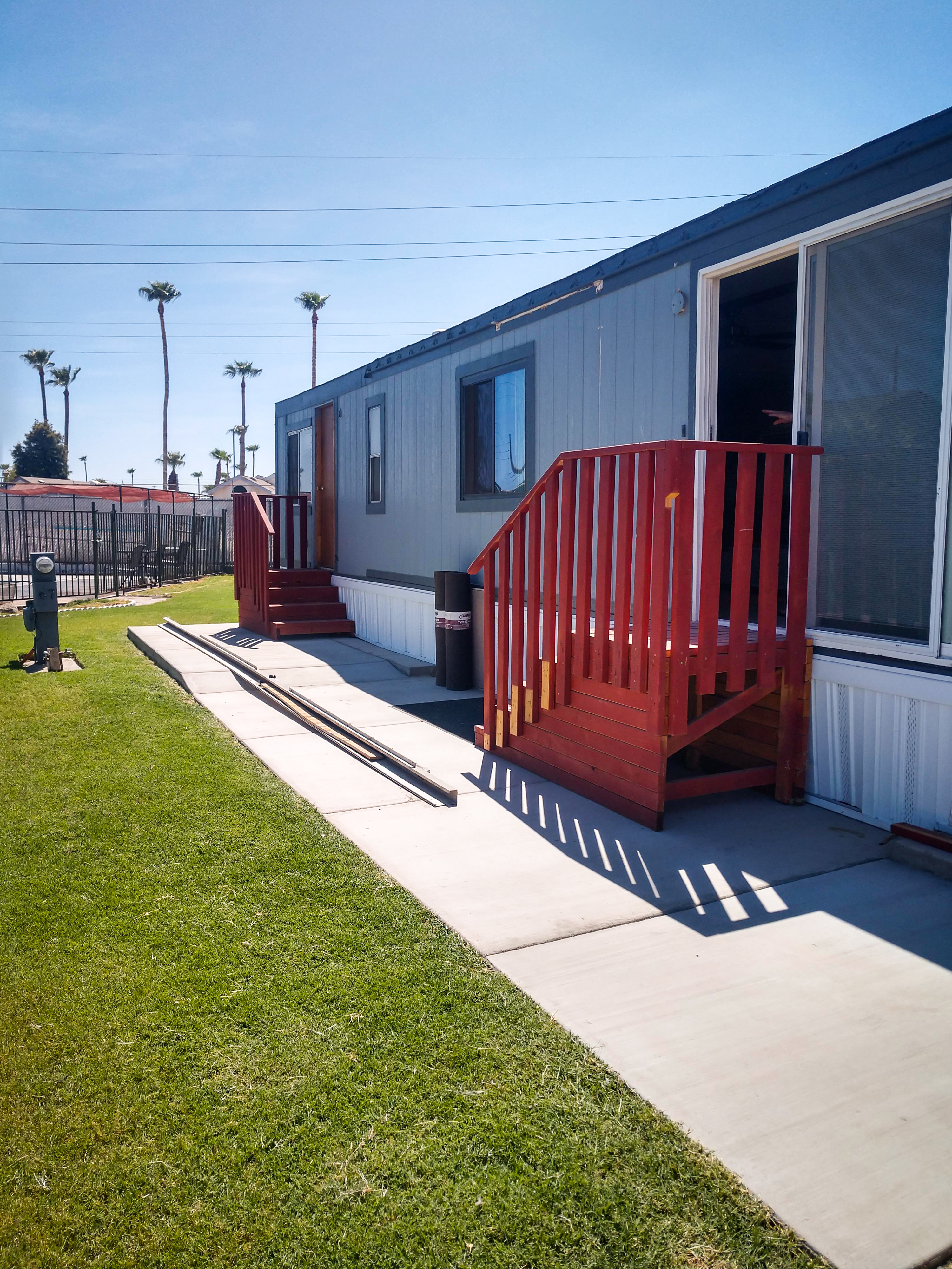 Secure RV units await you at our top RV park
